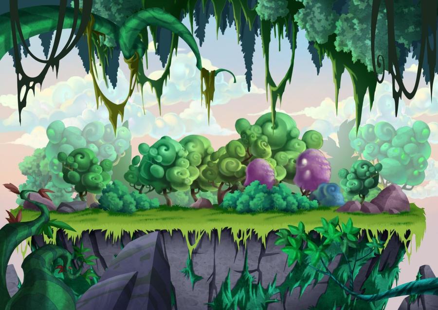 Game Background design by munlyne