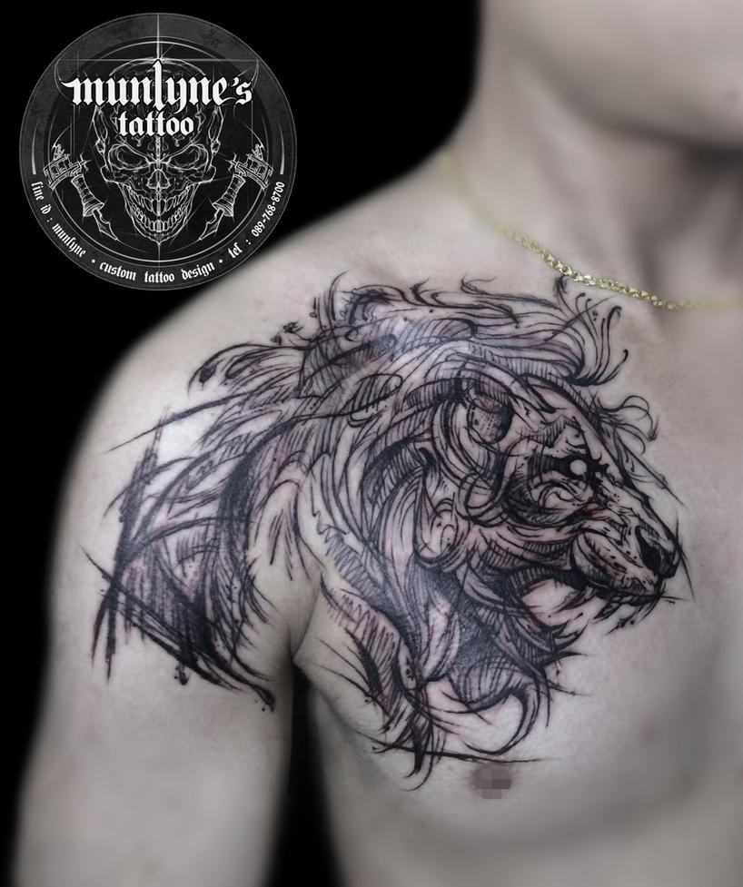 Lion 01 by munlyne