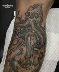 Dark Squid by munlyne