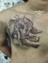 Elephant 02 by munlyne