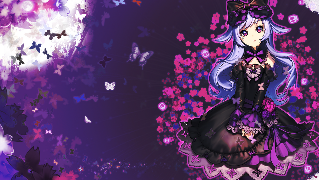 gothic butterfly wallpapers wwwimgkidcom the image