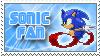 SonicFan Stamp by BobOfTibia
