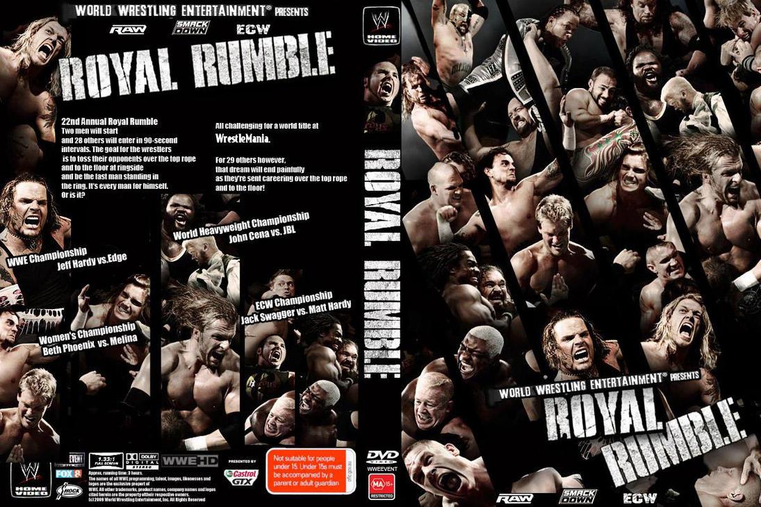 WWE Royal Rumble 2009 by JOSRULEZ