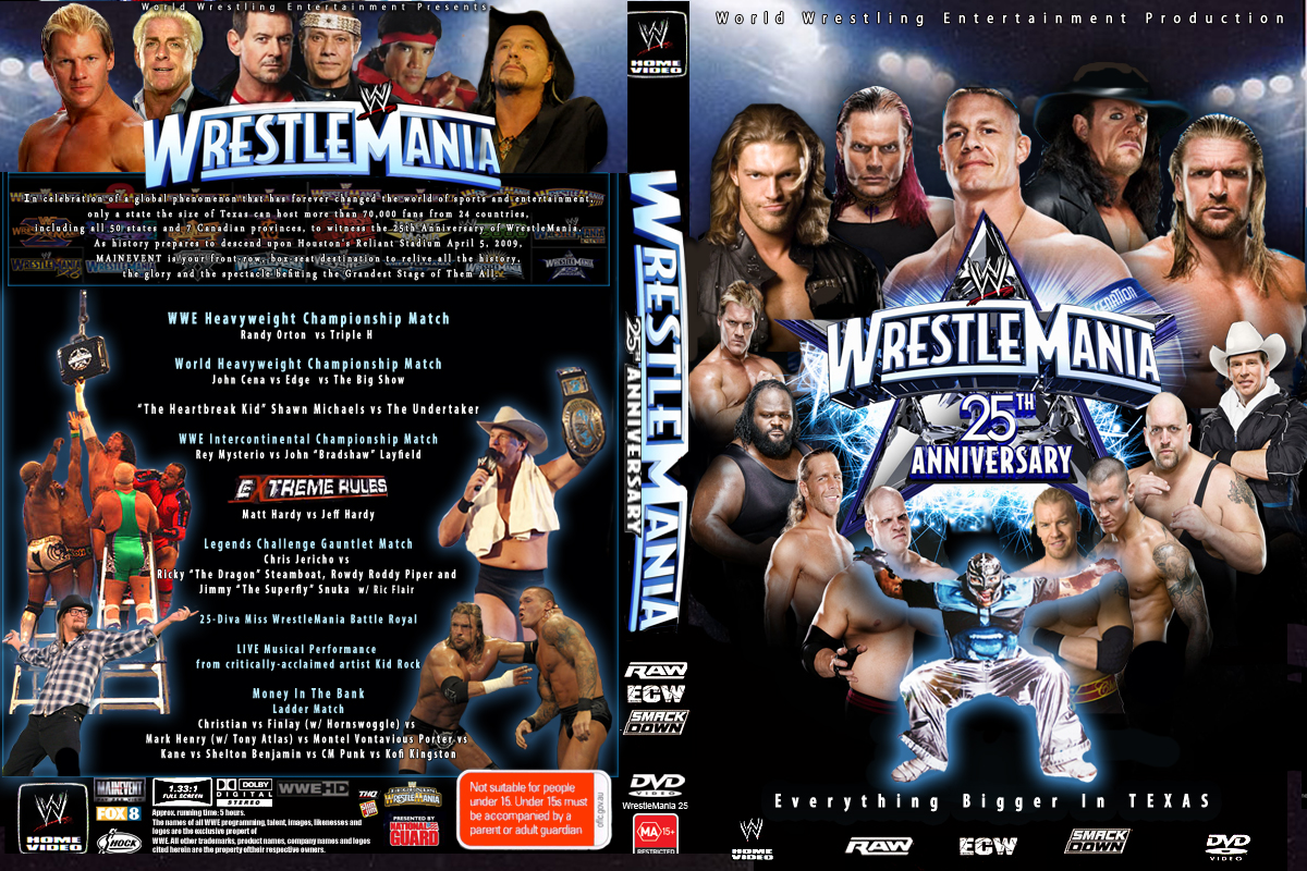 Image result for wrestle mania 2009 poster