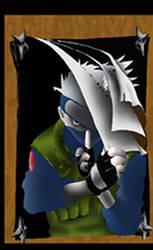 Kakashi the Poster Boy by kakashidiot