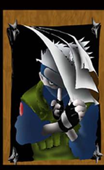 Kakashi the Poster Boy