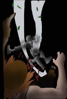Kakashi's White Chakra Blade