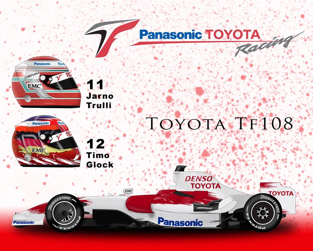 Toyota TF108 by ShinjiRHCP