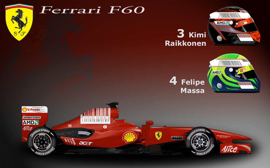 Ferrari F60 by ShinjiRHCP