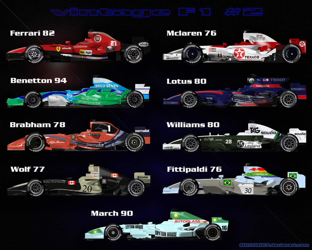 F1 Vintage n.2 by ShinjiRHCP