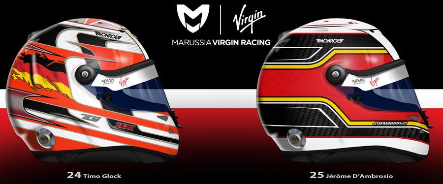 Marussia Virgin 2011 by ShinjiRHCP