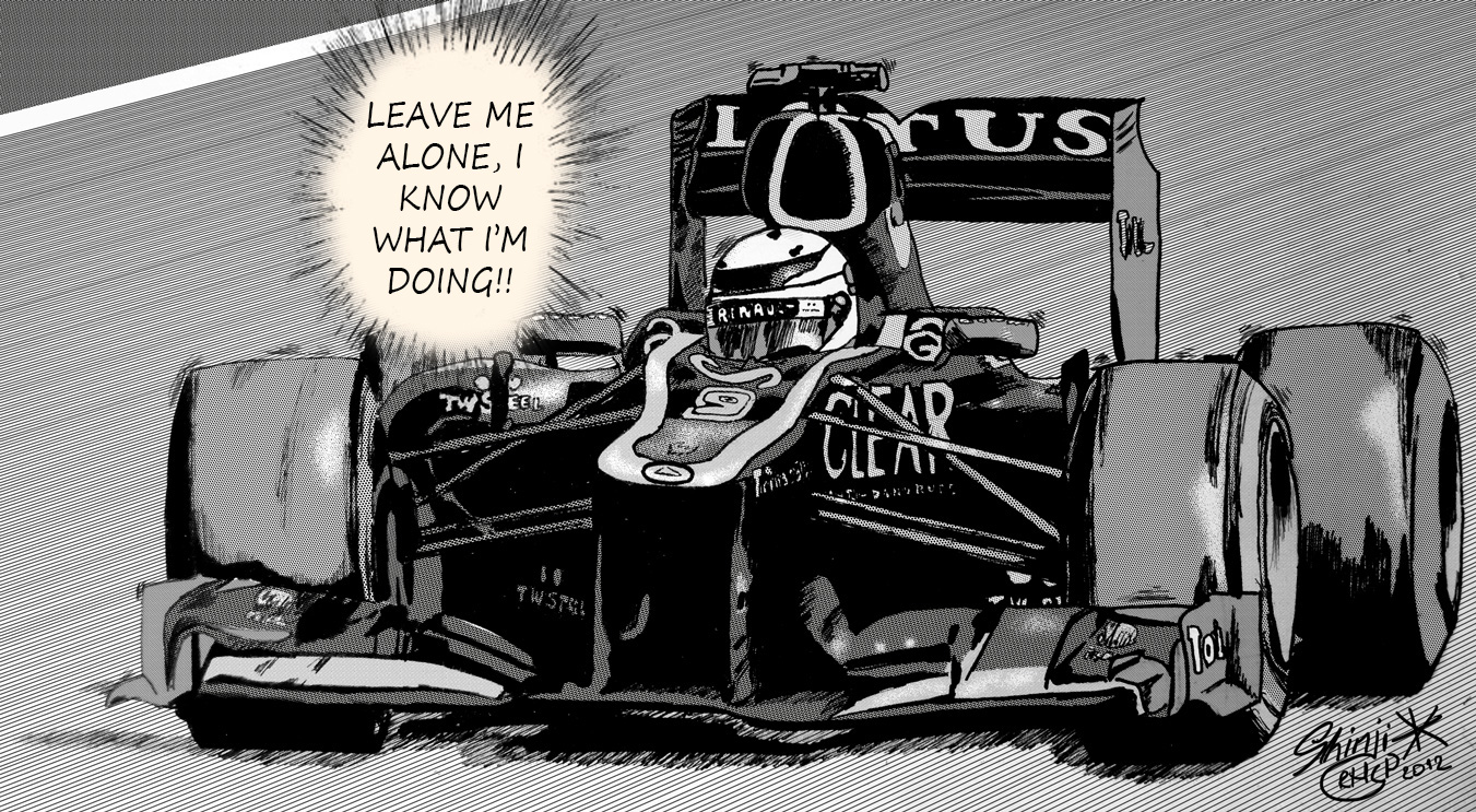 Leave me Alone - Raikkonen manga 2 by ShinjiRHCP