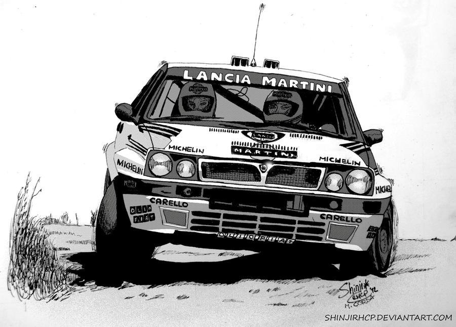 Lancia Martini Delta Rally car by ShinjiRHCP