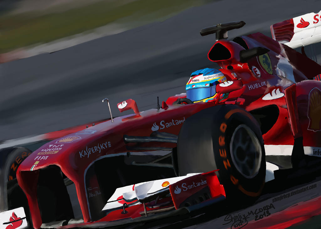 Ferrari F138 - Alonso by ShinjiRHCP