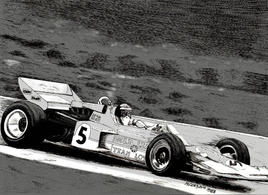 Lotus 72 - Rindt by ShinjiRHCP