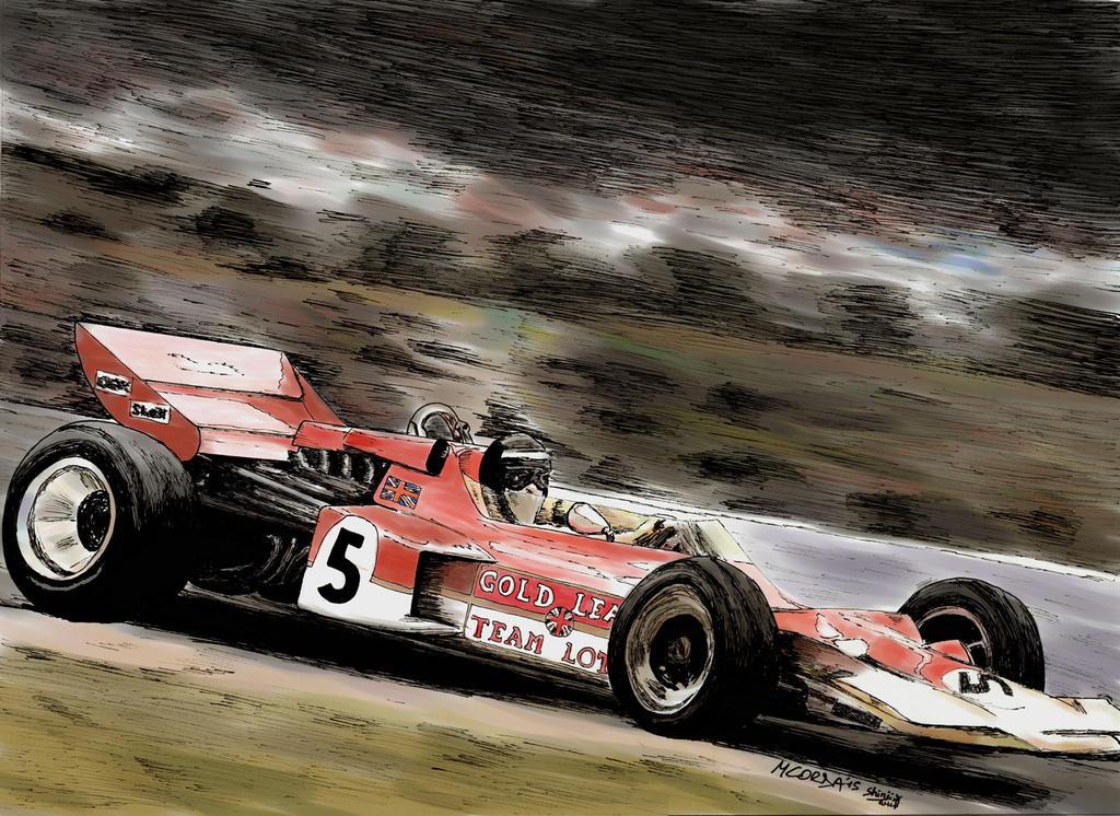 Lotus 72 color by ShinjiRHCP