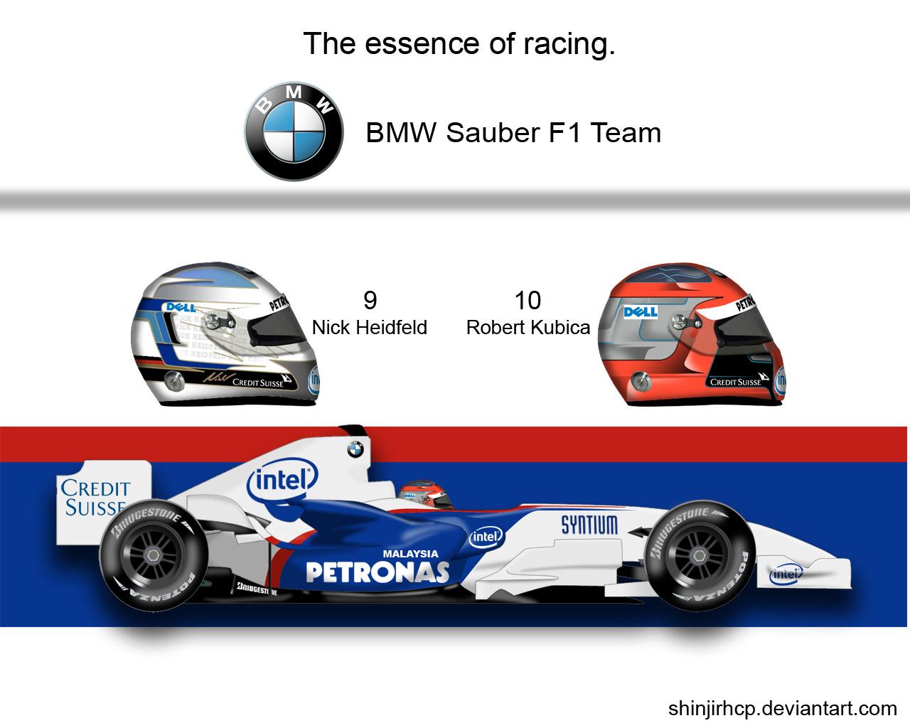 Bmw Sauber F1.07 by ShinjiRHCP