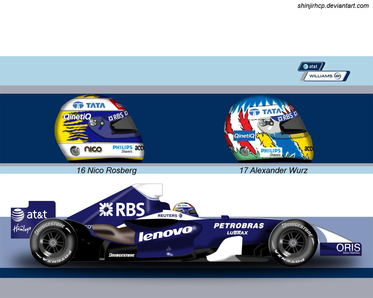 Williams FW29 by ShinjiRHCP