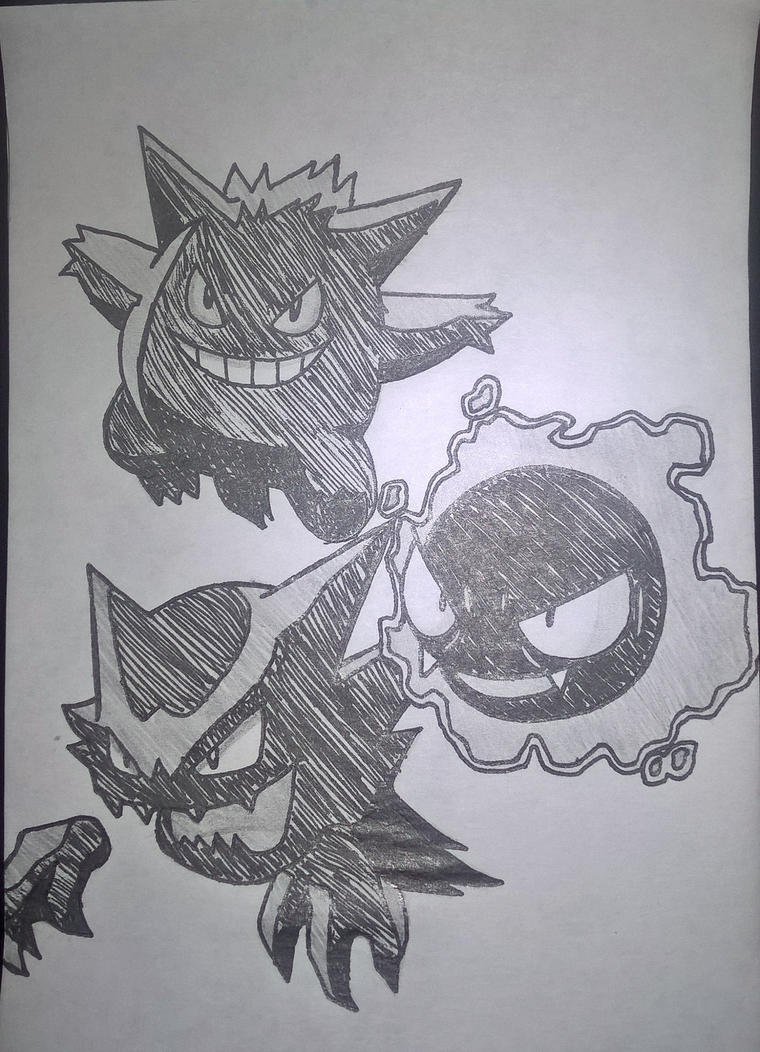 Ghost Pokemon by SmileyVirago