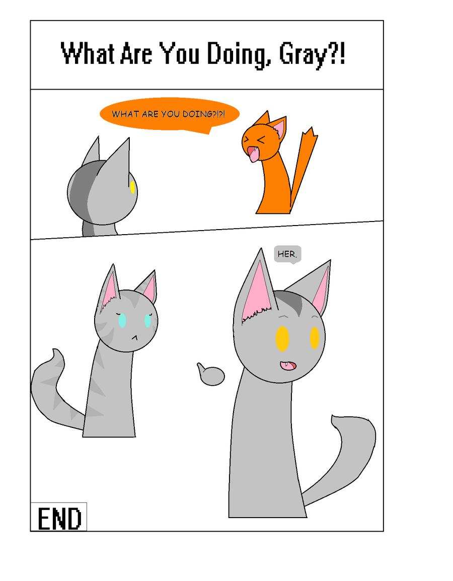 Warrior Cats Graystripe Sillhouette