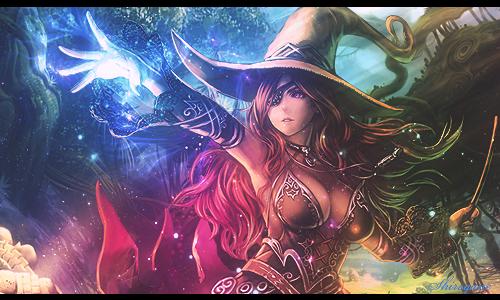 Dark witch by shirogane-ken