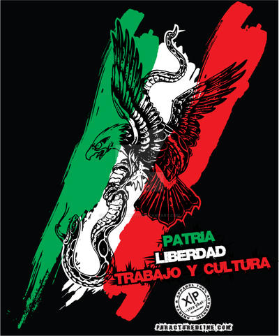 X-TRA PHAT Mexico Tee by cypherallah777