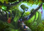 The Sock Dragon by LyntonLevengood