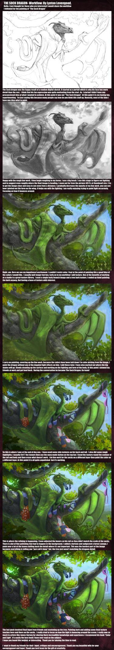 The Sock Dragon Work Flow by LyntonLevengood