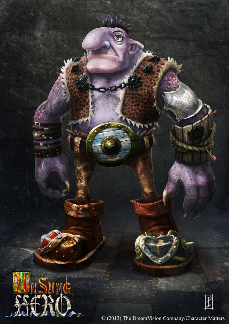 Unsung Hero- Troll Concept by LyntonLevengood