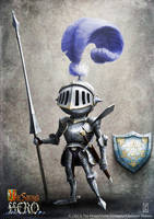 Knight Unsung Hero by LyntonLevengood