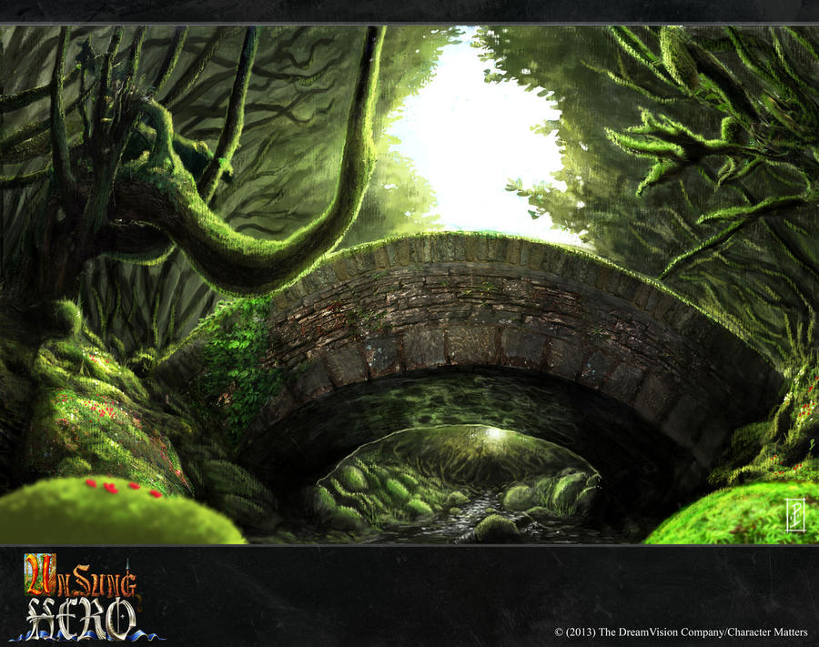 Unsung Hero- Old Bridge by LyntonLevengood