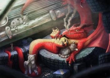Junk yard Dragon by LyntonLevengood