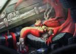 Junk yard Dragon