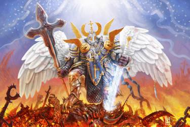 The Destroying Angel by LyntonLevengood