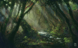 Forest by LyntonLevengood