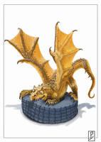 Nom Nom Dragon by LyntonLevengood