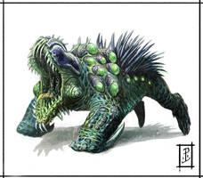 Alien Critter Creature design by LyntonLevengood