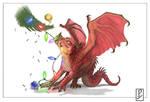 Christmas Dragon!