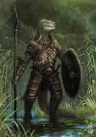 Argonian by LyntonLevengood