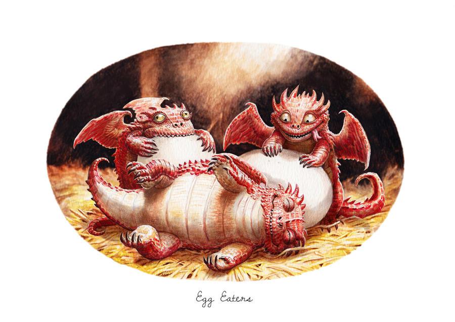 Egg eaters by LyntonLevengood