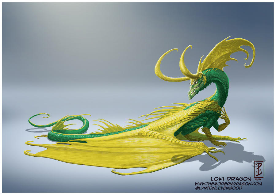 Loki Dragon by LyntonLevengood