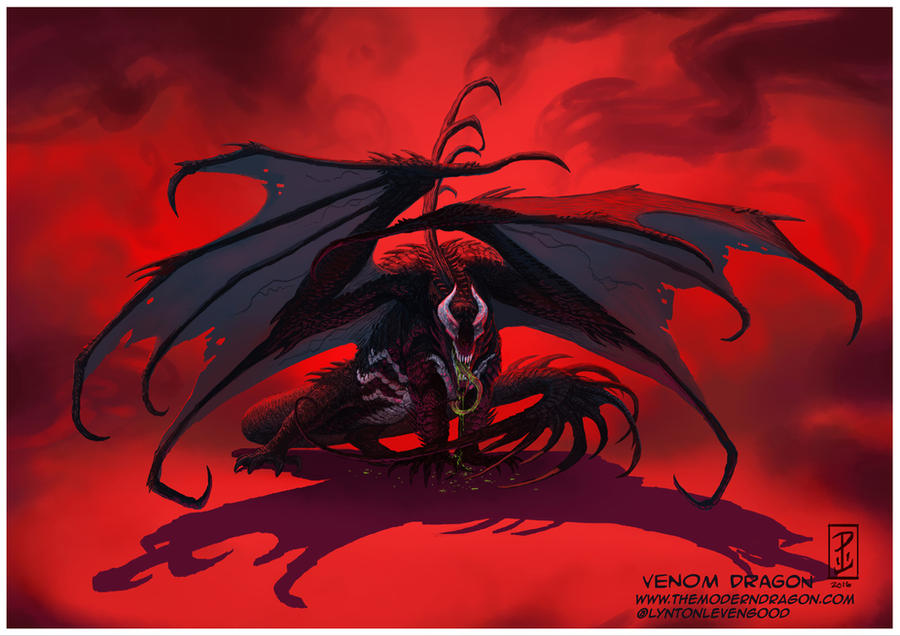 Dragão do veneno por LyntonLevengood