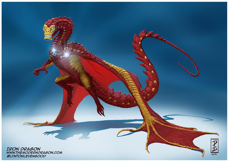 Dragão de ferro por LyntonLevengood