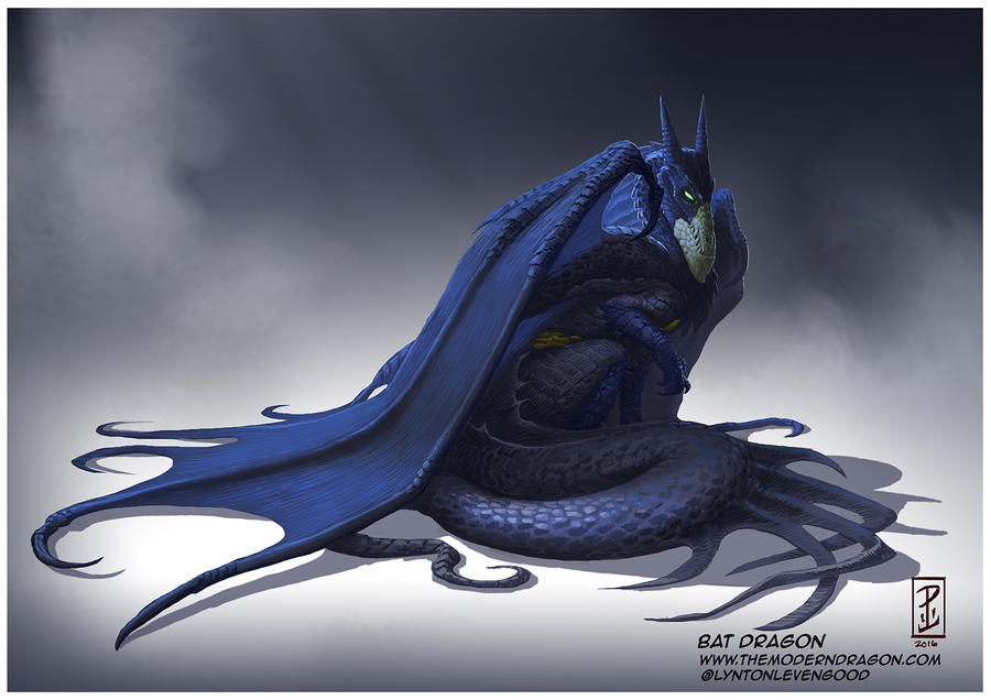 drakk bat dragon by - photo #4