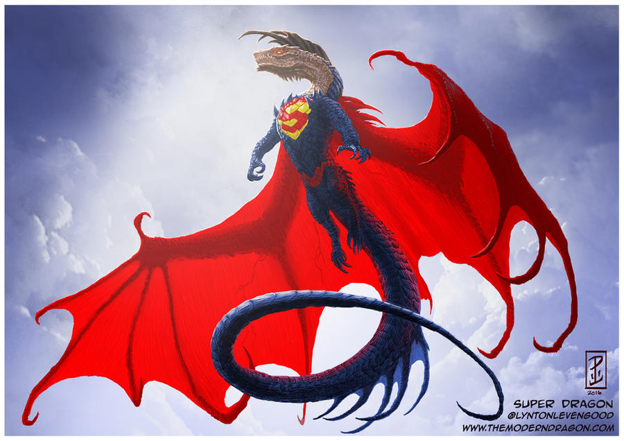 Super Dragon by LyntonLevengood