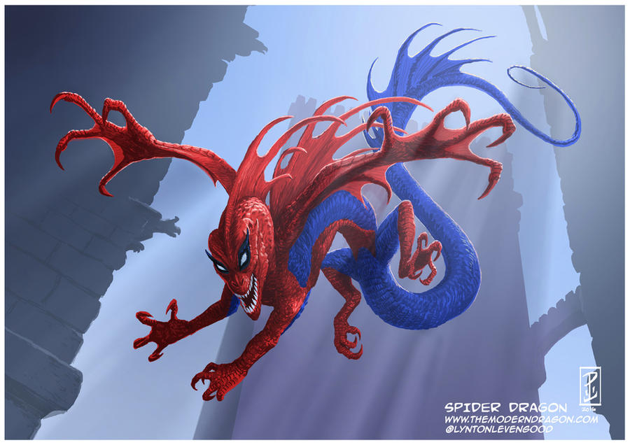 Spider Dragon por LyntonLevengood