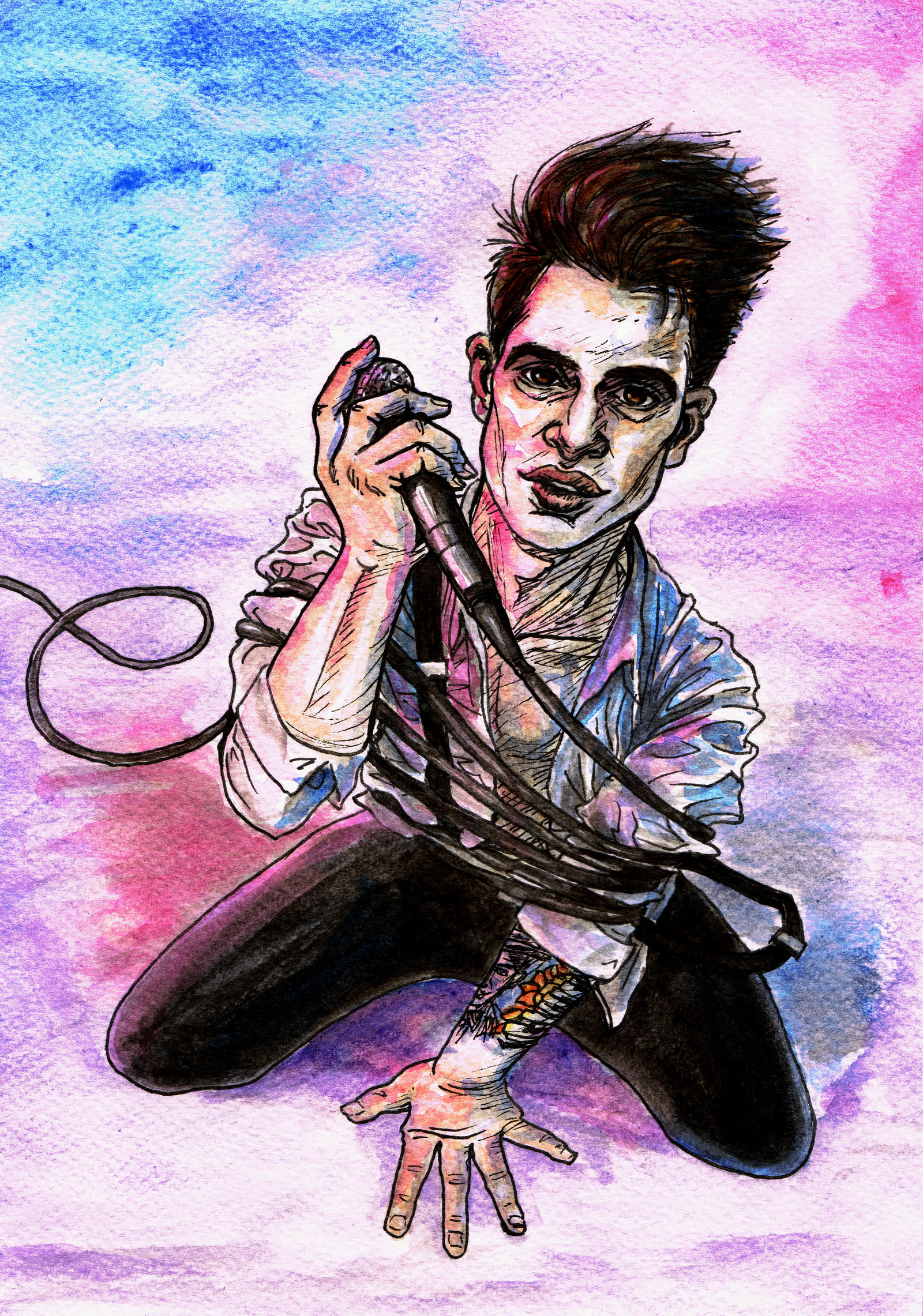 Brendon Urie Drawing Tumblr