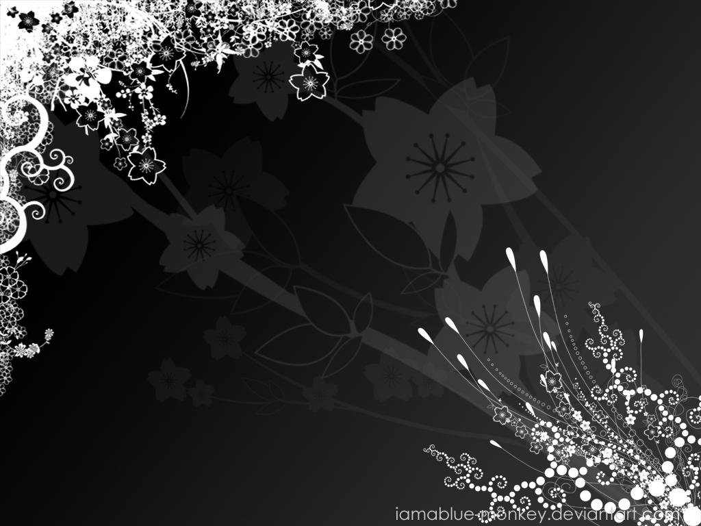 Wallpaper Black White