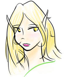 Amanda Sketch by Rafanas