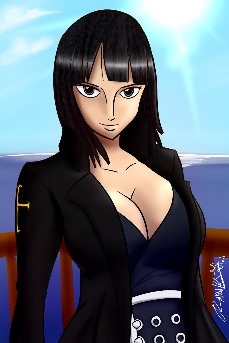 Nico Robin Strong World by Rafanas - 593.2KB